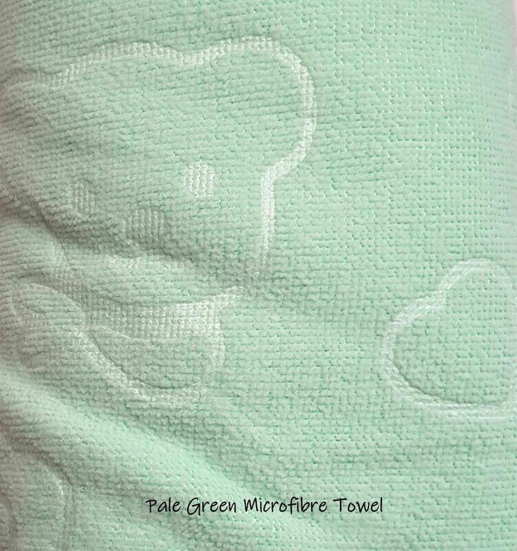 Microfibre Plunking Towel Green