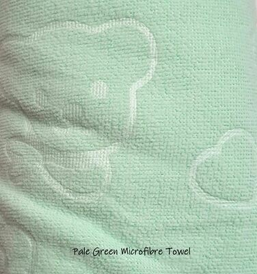 Microfibre Plunking Towel Green
