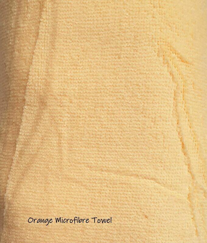 Microfibre Plunking Towel Orange