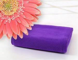 Microfibre Plunking Towel Purple