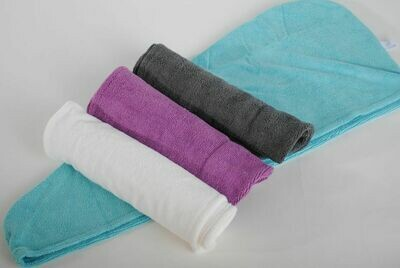 Microfibre Hair Wrap (Aqua)