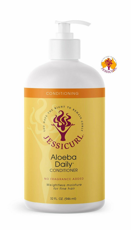 Jessicurl Aloeba Daily Conditioner 946 ml No Fragrance Added