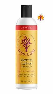 Jessicurl Gentle Lather Shampoo 237ml No Fragrance Added