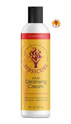 Jessicurl Hair Cleansing Cream 237ml No Fragrance Added