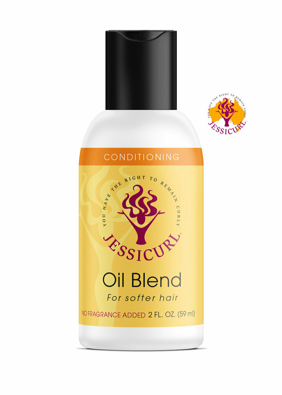 Jessicurl Oil Blend 59ml No added Fragrance