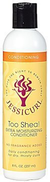 Jessicurl Too Shea! Extra Moisturising Conditioner 237ml Citrus Lavender