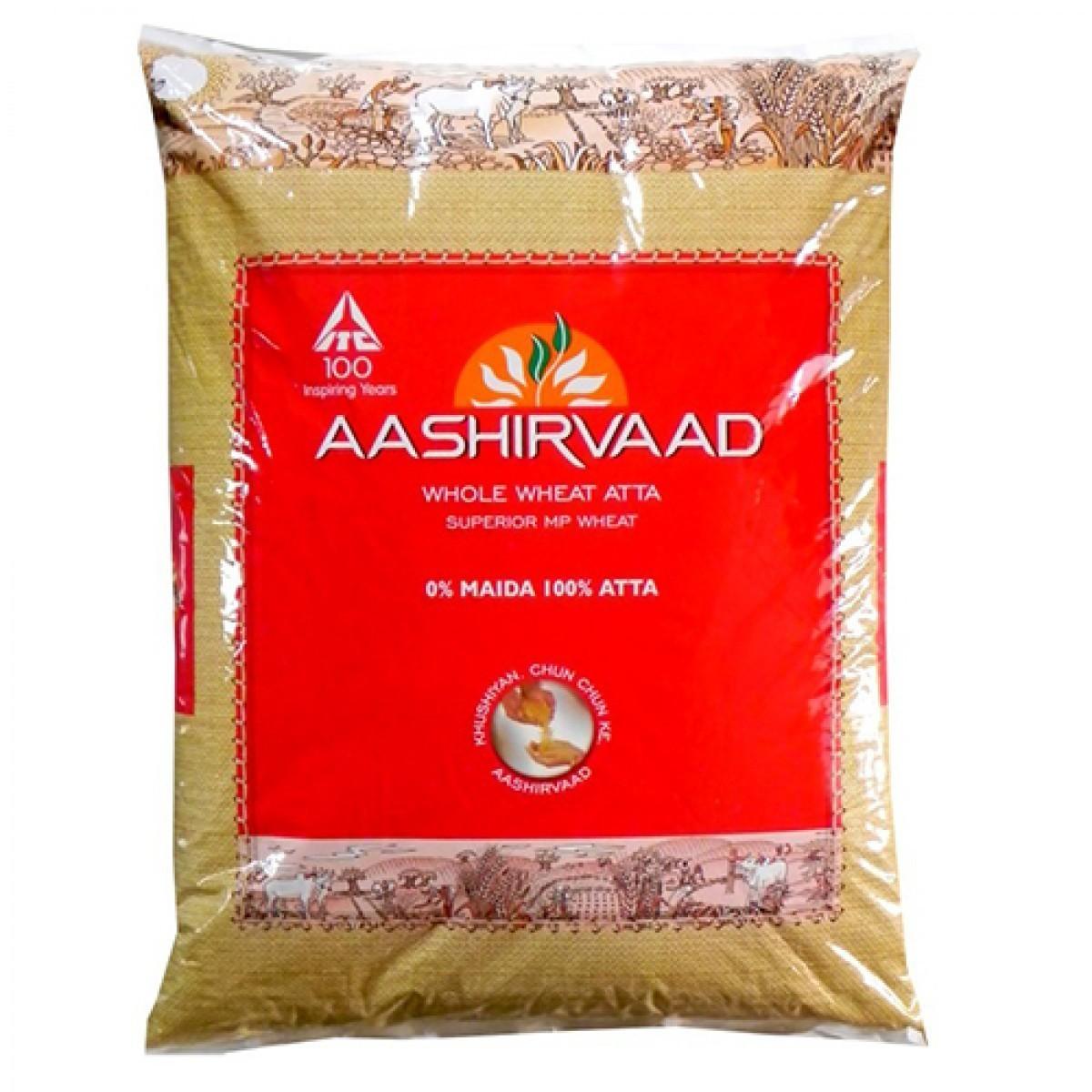 AASHIVRAAD ATTA EXPORT PACK 5KG