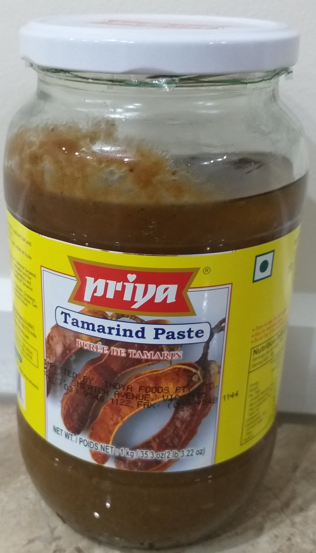 PRIYA TAMARIND (IMLI) PASTE 1 KG