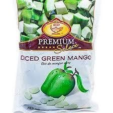 DEEP FROZEN DICED GREEN MANGO 312G
