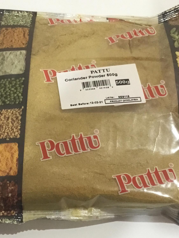PATTU CORIANDER POWDER 500 G