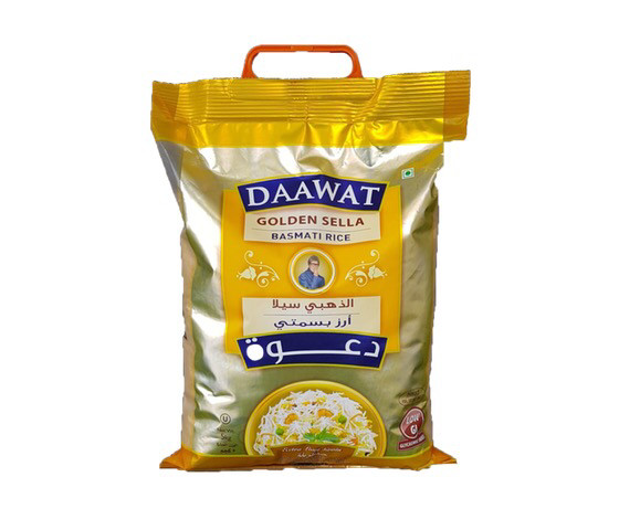 DAWAAT GOLDEN SELLA BASMATI RICE 5KG