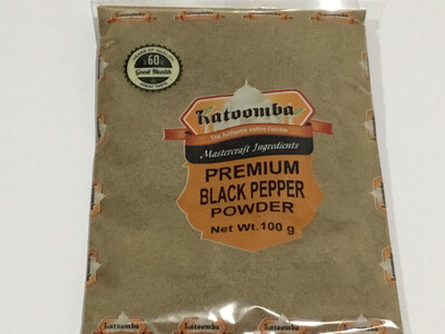 KATOOMBA BLACK PEPPER (KALI MIRCH) POWDER 100G