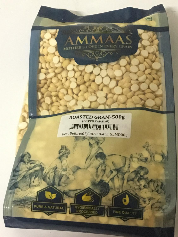 AMMAS DALIYA (POTTU KADALAI/ROASTED GRAM SPLIT/ROASTED CHANA DAL) 500 GMS