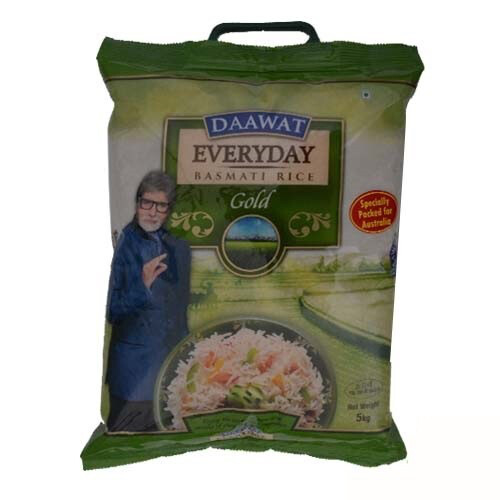 DAWAAT EVERYDAY GOLD BASMATI RICE 20 KG