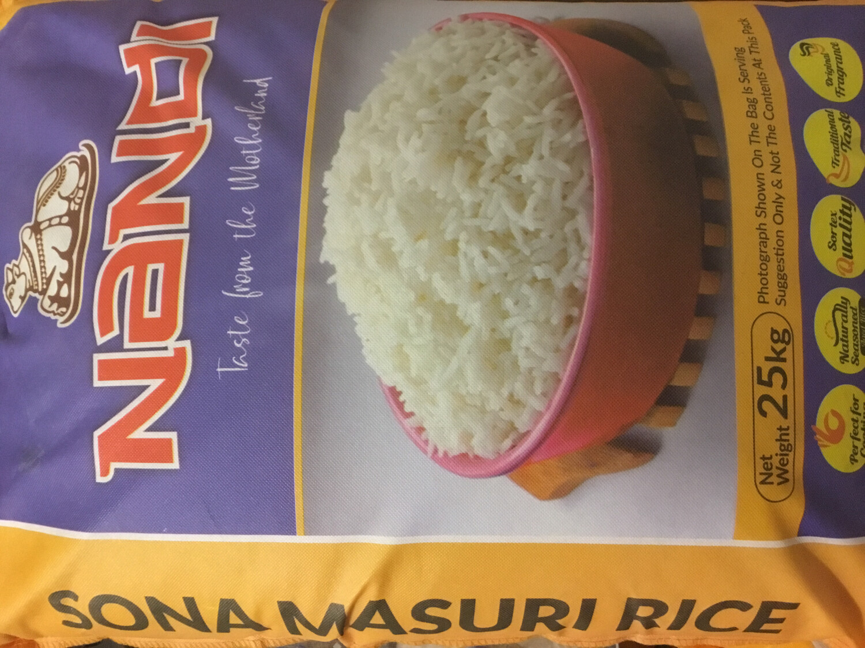 NANDI(UTHRA) SONA MASOORI  - 20KG  WITH FREE AMMAS MANGO PICKLE 300G                OR AMMAS RED CHILLI PICKLE 300G