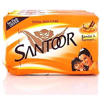 SANTOOR SOAP 100G (4 PACK)