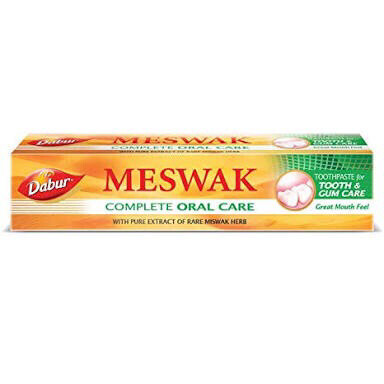 MISWAK GOLD TOOTHPASTE 120G+50G(FREE TOOTH BRUSH)