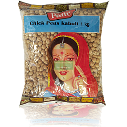 PATTU KABULI CHICK PEAS (WHITE CHANA) 1 KG