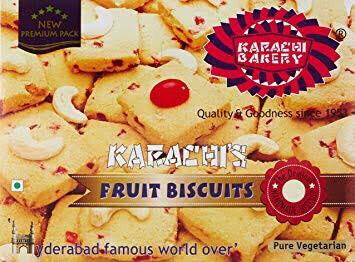 KARACHI FRUIT BISCUITS EGGLESS 400G