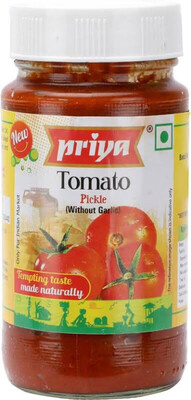 PRIYA TOMATO PICKLE (WITH GARLIC) 300G