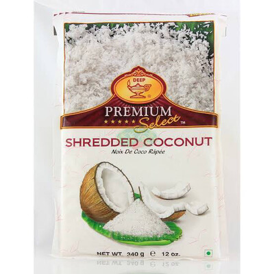DEEP SHREDDED COCONUT 340 G