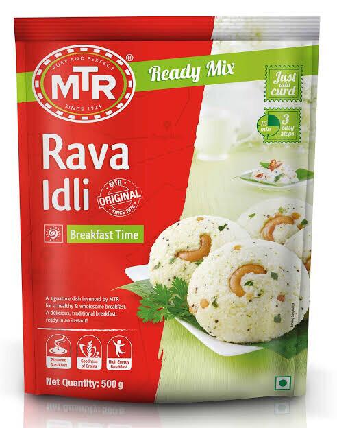 MTR RAVVA IDLY MIX 500 G