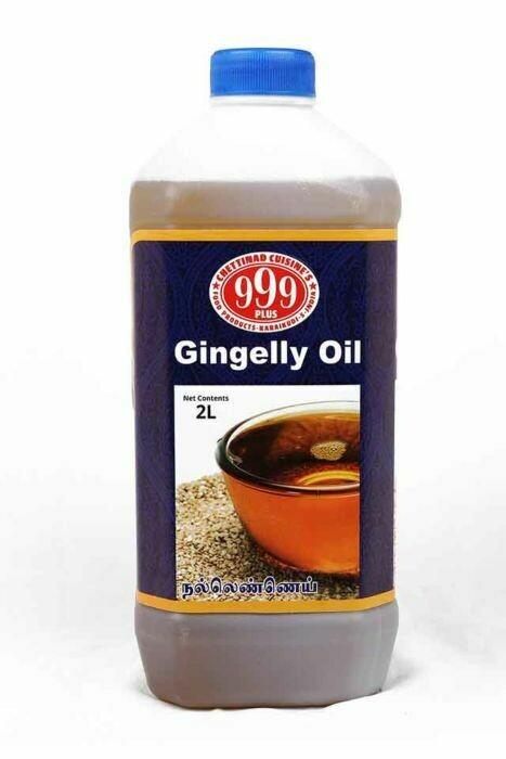 999 PLUS GINGELLY (SESAME) OIL 2L