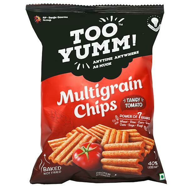 TOO YUMM MULTIGRAIN CHIPS TANGI TOMATO