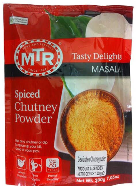 MTR SPICED CHUTNEY POWDER (IDLY KARRAM) 200G BUY 1 GET 1