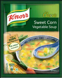 KNORR SWEET CORN SOUP 44 G