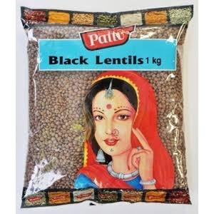 PATTU BLACK LENTILS ( MASOOR DAL SABUT) 2 KG