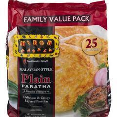 DEEP PLAIN PARATHA( MALAYSIAN STYLE)  25 PACK