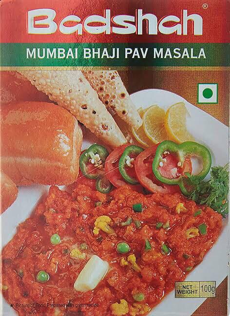 MUMBAI PAV BHAJI MASALA  100 G