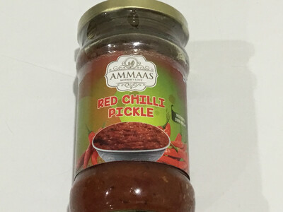 AMMAS RED CHILLI PICKLE 300 G