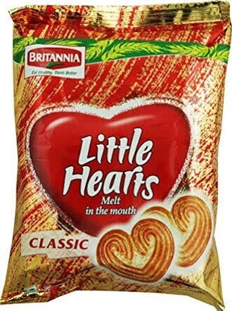 LITTLE HEARTS 75 G BUY 2 for $2.75