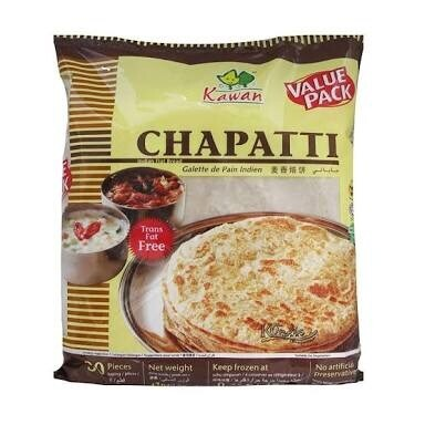 KAWAAN CHAPATHI  30 PCS PACK