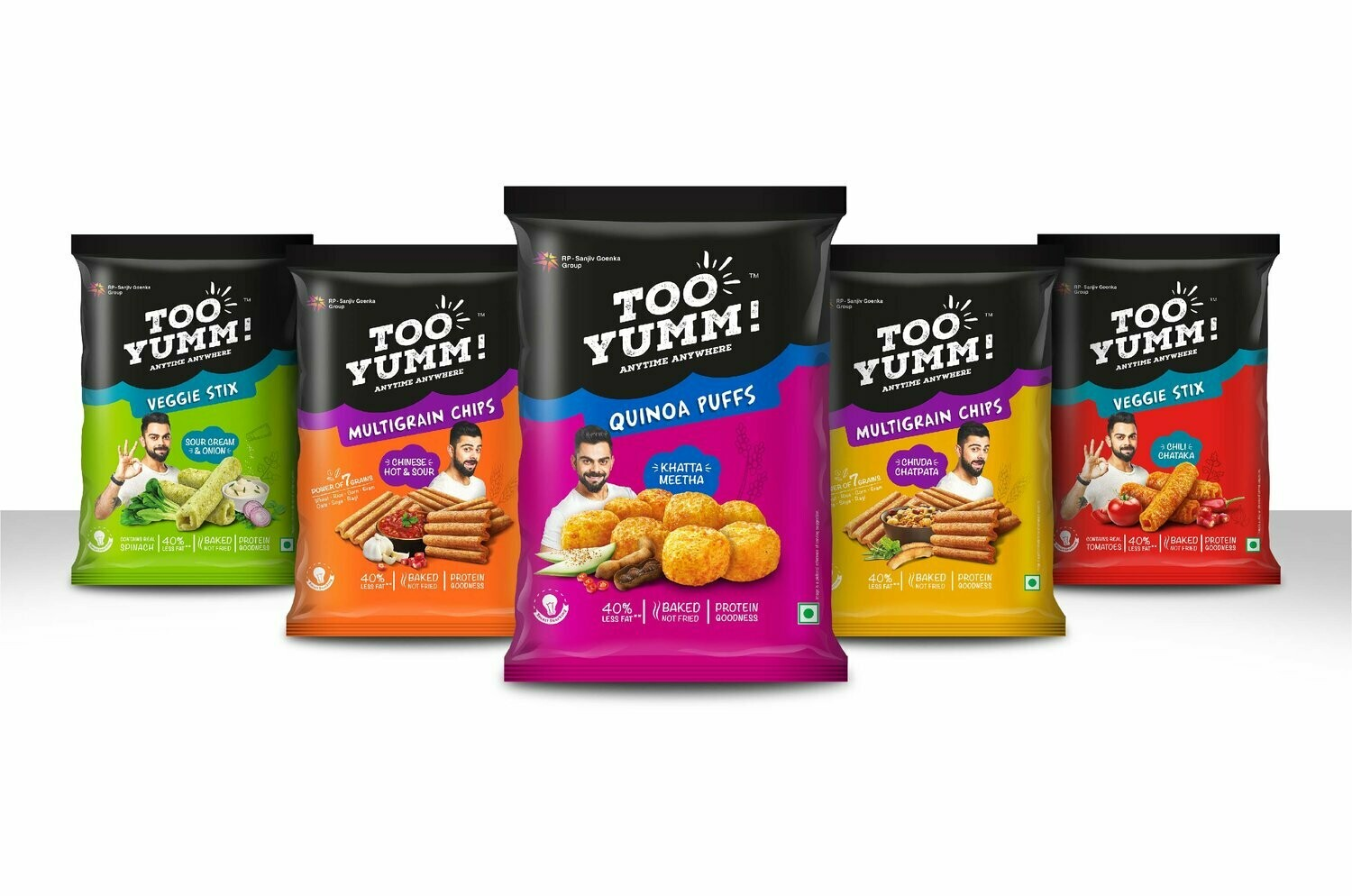 TOO YUMM HEALTHY SNACKS MIX 'N' MATCH BUY 3 @ $2.49
