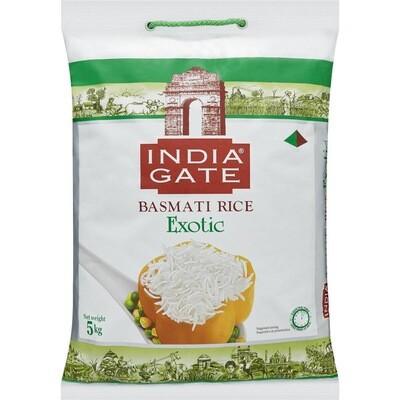 INDIA GATE EXOTIC BASMATI RICE 5 KG