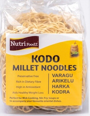 NUTRI FOODZ KODO MILLET NOODLES (Includes Taste Maker Packet) 180 GMS