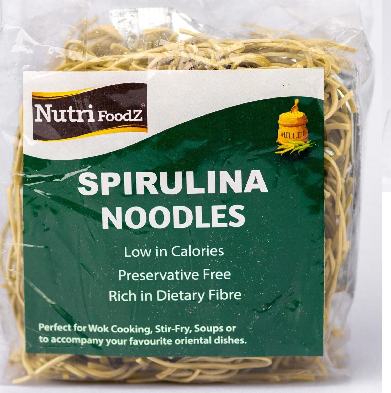 NUTRI FOODZ SPIRULINA MILLET NOODLES (Includes Taste Maker) 180 GMS