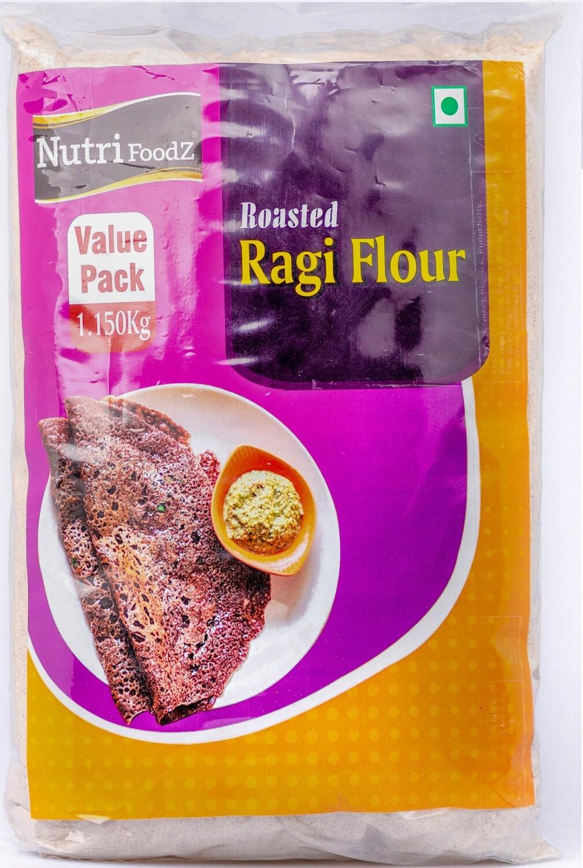 NUTRI FOODZ ROASTED RAGI (FINGER MILLET) FLOUR 1.15 KG