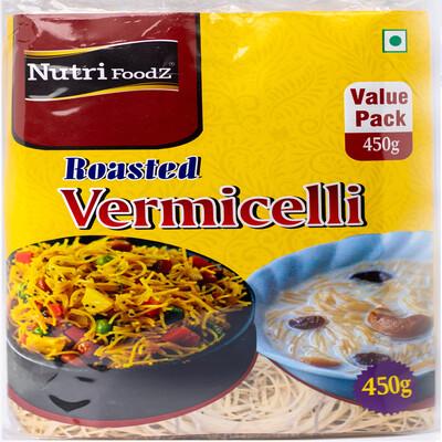 NUTRI FOODZ ROASTED WHEAT VERMICELLI 450 GMS