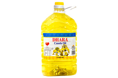 DHARA CANOLA OIL 5L