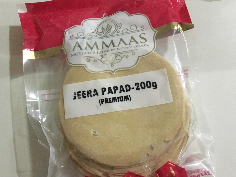 UDAD PAPPAD JEERA 200 G