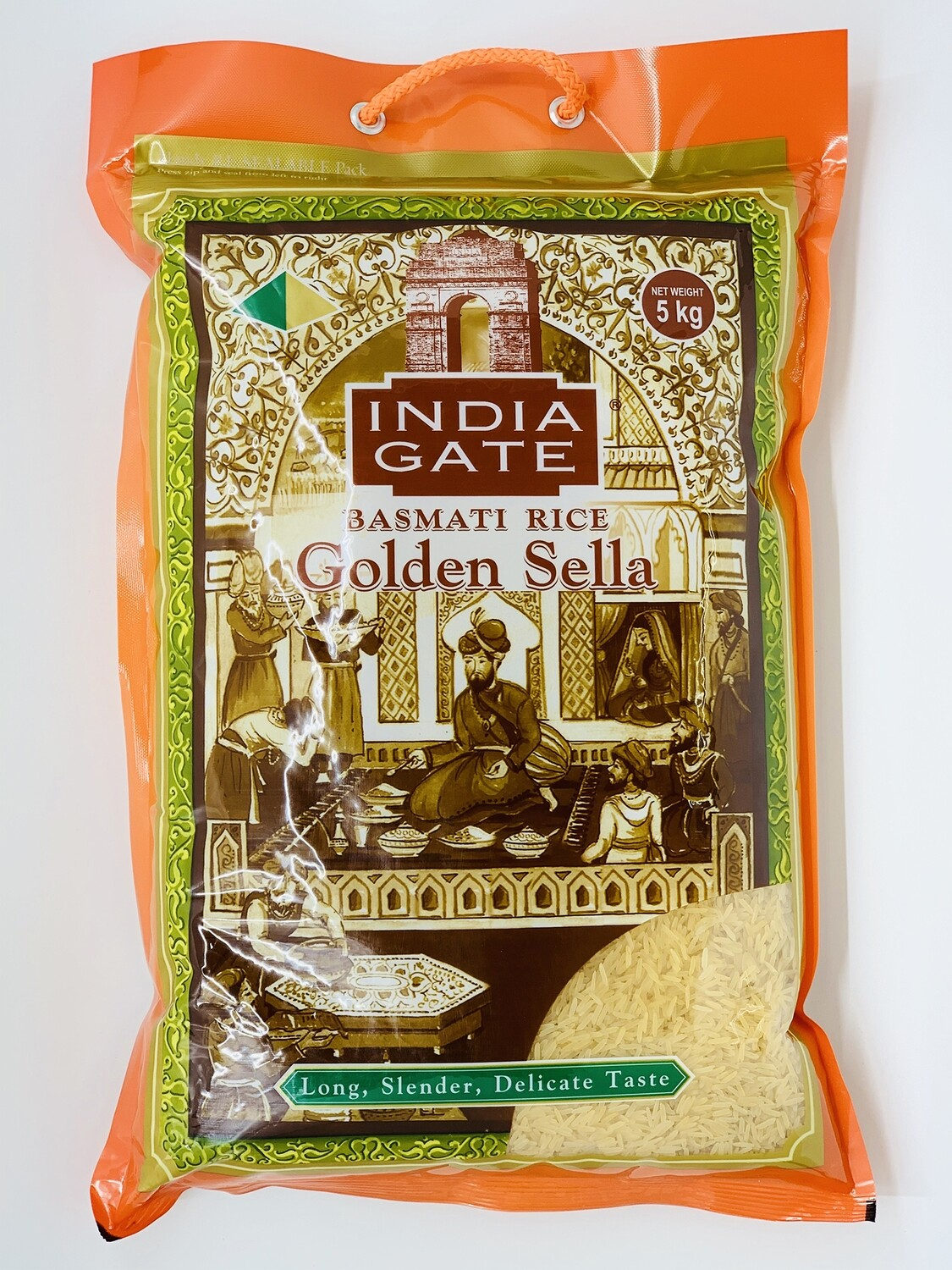 INDIA GATE GOLDEN SELLA RICE 20 KG