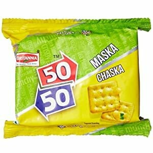 BRITANNIA 50-50 MASKA CHASKA VALUE PACK (62G*6)