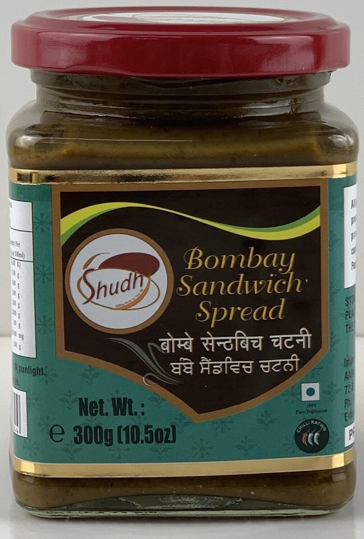 SHUDH BOMBAY SANDWICH CHUTNEY 300 G BUY 1 GET 1 FREE