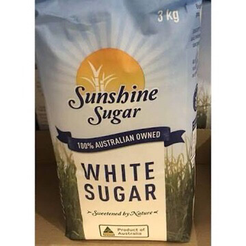 SUNSHINE WHITE SUGAR 3 KGS