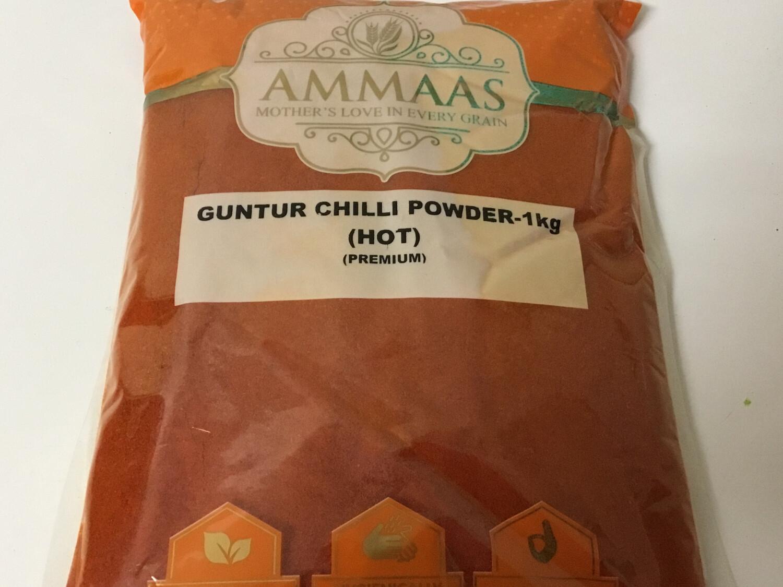 AMMA'S GUNTUR RED CHILLI POWDER  1 KG