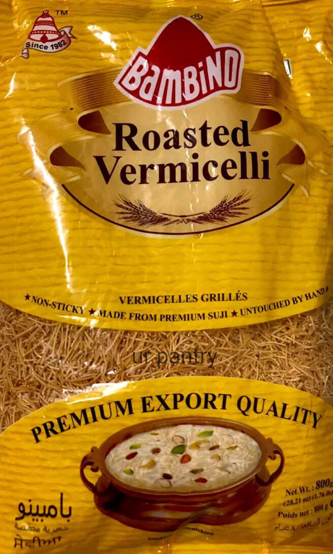 BAMBINO ROASTED VERMICELLI  800 GMS